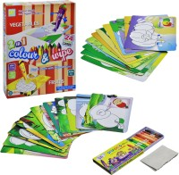 Ekta Ekta Colour & Wipe Vegetables And Fruits(Multicolor)