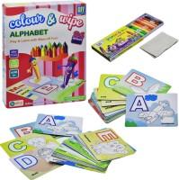 Ekta Ekta Colour & Wipe Alphabet Play And Learn(Multicolor)