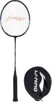 Li-Ning XP-70-IV Black, Blue, Gold Strung Badminton Racquet(Pack of: 1, 86 g)