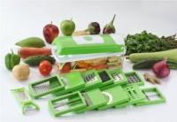 SHOPELEVEN 14 in 1 Slicer Dicer Plus Graters Food-Chopper Multi-Cutter Slicer Peeler, Dicing Fruit, Vegetable Storage Container EC96 Nicer dier chopper Vegetable & Fruit Chopper