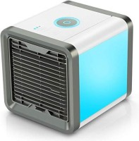 View Ameeha 4 L Room/Personal Air Cooler(White, Personal Space Air Coolers for Room Portable Mini Air Conditioner for Camping & Car Small Humidifying Cool Air Cube Conditioner Fan II Indoor & Outdoor II Table Top Mini Air Conditioner)  Price Online