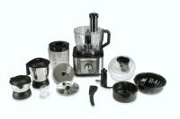 Croma CRAK1035 1000 Watt Food Processor 1000 W Food Processor(Black, steel)