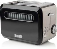 Haden Boston Black Pyramid Toaster 815 W Pop Up Toaster(Black)