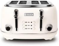 Haden Heritage White Toaster 1670 W Pop Up Toaster(White)
