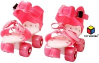 Toy Centre Live Sports Pro Lite Skates Shoes For Kids / Childrens Age Group 6/12year-Quad Roller UNISEX (Pink) In-line Skates - Size 4-7 UK Quad Roller Skates - Size 4-7 UK(Pink)
