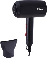 Kubra KB-153 Hair Dryer 1800W Hot and Cold Hair Dryer(1800 W, Black)