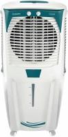CROMPTON 88 L Desert Air Cooler(White & Turquoise, Honeycomb)