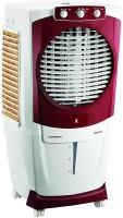 CROMPTON 55 L Desert Air Cooler(White & Maroon, Woodwool)