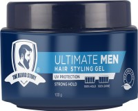 the beard story Hair Styling Gel For Strong Hold Hair Gel(100 g)