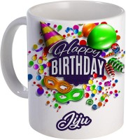 COLOR YARD best happy birthday jiju with birthday gift design on Ceramic Mug(320 ml)