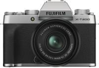 Fujifilm X Series X-T200 Mirrorless Camera Body with 15-45 mm Lens(Silver)