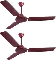 Flipkart SmartBuy Classic 1200 mm 3 Blade Ceiling Fan(Brown, Pack of 2)