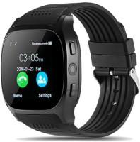 ZeeKart T8 Smartwatch(Black Strap, Free)