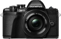 OLYMPUS OM-D E-M10 Mark III Mirrorless Camera Body with 14 - 42 mm Lens(Black)