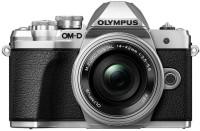 OLYMPUS OM-D E-M10 Mark III Mirrorless Camera Body with 14 - 42 mm Lens(Black, Silver)