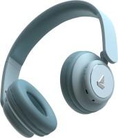 boAt Rockerz 450 Bluetooth Headset(Aqua Blue, On the Ear)