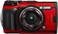 OLYMPUS TG TG-6(12 MP, 4X Optical Zoom, 2X Digital Zoom, Red)