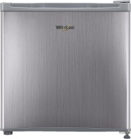 Whirlpool 46 L Direct Cool Single Door 3 Star (2020) Refrigerator(Silver, 65 W-ATOM PRM 3S steel-G)