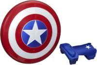 MARVEL Avengers Captain America Magnetic Shield & Gauntlet(Multicolor)