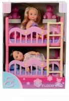 SIMBA Evi Love 2 Floor Bed(Pink)
