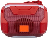 Techobucks 100% brand New Powerful Sound mini Loudspeaker Deep Bass {Mobile/Tablet/PC/Laptop}in Built DJ Light USB,AUX,TF CARD in Built Bluetooth Connectivity 6 W Bluetooth Speaker(Red, Stereo Channel)