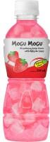 Mogu Mogu Strawberry Juice with Nata De Coco(300 ml)