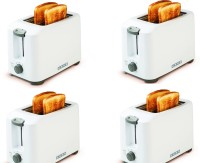 Usha PT3720 Pack of 4 700 W Pop Up Toaster(White)