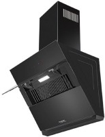 Hindware IRIS AUTO CLEAN 90 Auto Clean Wall Mounted Chimney(BLACK 1280 CMH)