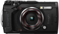 OLYMPUS TG TG6(12 MP, 4x Optical Zoom, 2x Digital Zoom, Black)