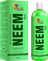 KHADI BHANDAR Pure Organic Neem Oil (ColdPressed) Hair & Skin Nourisher Hair Oil(100 ml)