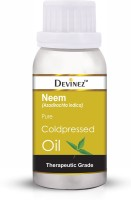Devinez Neem Cold-Pressed Oil, 500ml 100% Pure Natural, Undiluted, Smoothes Wrinkles, Relieves Dry Skin, Scars & Acne care, Skin Conditioner & toner, Dandruff care, Hair Growth
