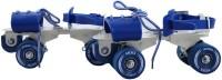 VICKY Gemini Blue Roller Skates Quad Roller Skates - Size 6-11 UK(Blue)