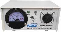 ROBIN TEPER 222 a 300 VA 140-280 Volt 1 CRT TV/Music System + DVD/DTH Autocut Voltage Stabilizer Autocut Stabilizer(White)