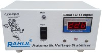 rahul 4515c Digital 300 VA 140-280 Volt 1 LCD/LED TV +DVD/DTH/Music System Automatic Voltage Stabilizer Digital Automatic Stabilizer(White)