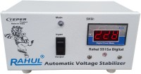 rahul 5515 a Digital 415 VA 140-280 Volt 1 LCD/LED TV +DVD/DTH/Music System Automatic Voltage Stabilizer Digital Autocut Stabilizer(White)