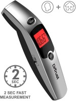 Dr. Trust (USA) Non Contact Forehead Temporal Artery Infrared Thermometer With Color Coded Fever Guidance Thermometer(Silver)