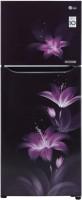 LG 260 L Frost Free Double Door 2 Star Convertible Refrigerator(Purple Glow, GL-T292SRGY)