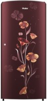 Haier 182 L Direct Cool Single Door 2 Star Refrigerator(Red Freesia, HRD-1822BRF-E)
