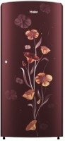 Haier 171 L Direct Cool Single Door 2 Star Refrigerator(Red Freesia, HRD-1712BRF-E)