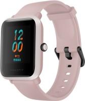 Huami Amazfit Bip S Smartwatch(Pink Strap, Regular)