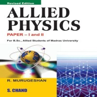 SChand Publications Allied Physics Paper- I And II by R. Murugeshan Higher Education(Voucher)