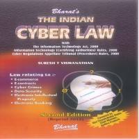 Bharat Law House The Indian Cyber Laws With Cyber Glossary by Suresh T. Viswanathan, N. Chandrababu Naidu Higher Education(Voucher)