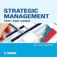 SChand Publications Strategic Management by C B Gupta Higher Education(Voucher)