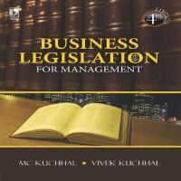 Vikas Publishing Business Legislation For Management by M. C. Kuchhal, Vivek Kuchhal Higher Education(Voucher)