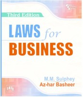 PHI Learning Laws For Business by M. M. Sulphey, Az-Har Basheer Higher Education(Voucher)