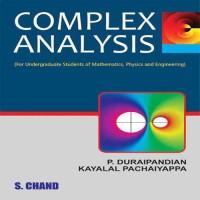 SChand Publications Complex Analysis by Kayalal Pachaiyappa & P. Duraipandian Higher Education(Voucher)