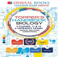 Oswaal Books Oswaal Toppers Handbook Biology For Classes XI XII Entrance Exams (Medical Other Competitions) by Panel Of Experts School(Voucher)