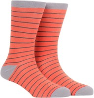 Soxytoes Men Striped Calf Length Socks