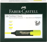 FABER-CASTELL Textliner Classic(Set of 10, Yelllow)