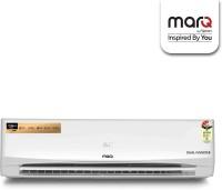 MarQ By Flipkart 1.5 Ton 3 Star Split Dual Inverter AC  - White(FKAC153SIAP, Copper Condenser)